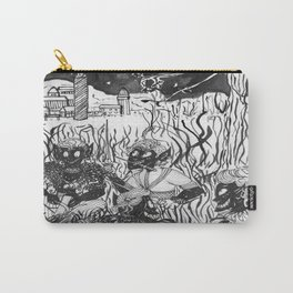 Winter  Hunting (Plain Ink) Carry-All Pouch