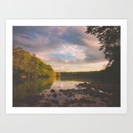 Sope Creek, Georgia Art Print