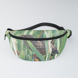 Cattails and the Bird Fanny Pack