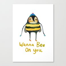 Wana Bee On You! Canvas Print