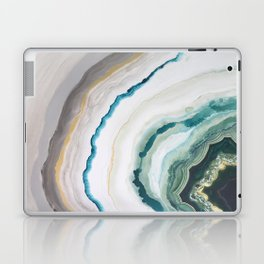 Green Agate #1 Laptop & iPad Skin