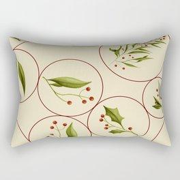 Vintage Baubles #society6 #xmas Rectangular Pillow