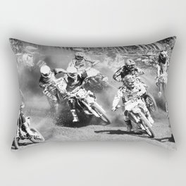 Dusty Race Rectangular Pillow