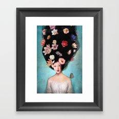 The Botanist's Daughter Framed Art Print
