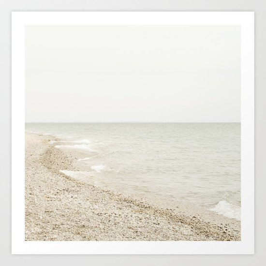 Coastal Shore Point Betsie No. 1 Art Print