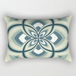Spiral Rose Pattern E 2/4 Rectangular Pillow