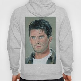 Mel Gibson portrait with dry pastels Hoody
