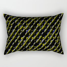 Bubbles&Stripes.... Rectangular Pillow