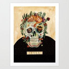 Beautiful Us - Skull Art Print