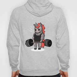 Womens Funny Unicorn Gymnastic Workout Fitness graphic Hoody