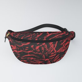 distressed roses Fanny Pack