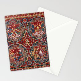 Tibetan Four Mandalas of the Vajravali Series Stationery Cards