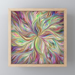 Color abstract Art Framed Mini Art Print