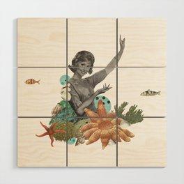 Océano Wood Wall Art