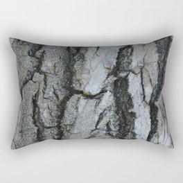 TEXTURES -- Fremont Cottonwood Bark Rectangular Pillow