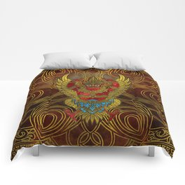 Garuda - bird of Vishnu Comforters