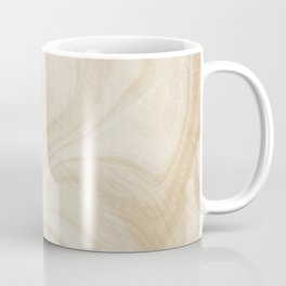 Gold Swirl Marble Coffee Mug