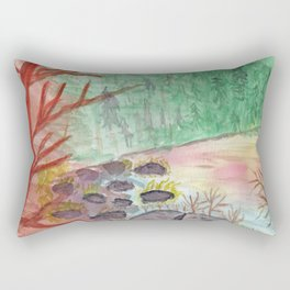The Cove at Wallum Lake Rectangular Pillow