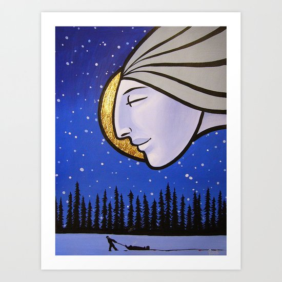 Northern Gods Art Print