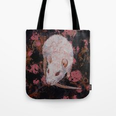 White Rat Tote Bag