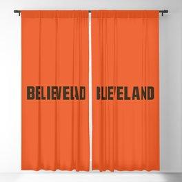 Believeland Blackout Curtain