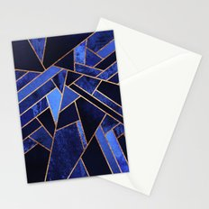 Blue Night Stationery Cards