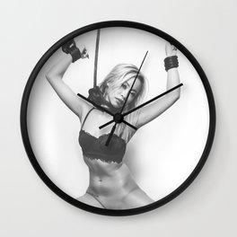 Pretty tied up Wall Clock