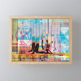 Cheers To The Streets Framed Mini Art Print