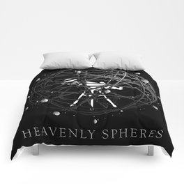 Heavenly Spheres Comforters