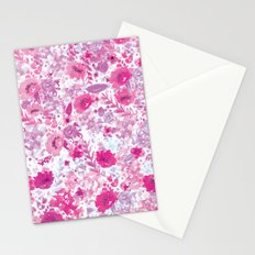 Floral Fuchsia Stationery Cards