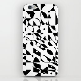 Fractured Structure iPhone Skin