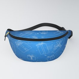 Christmas Presents Design Fanny Pack