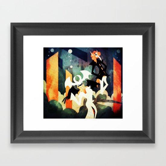 Expression Eaters Framed Art Print