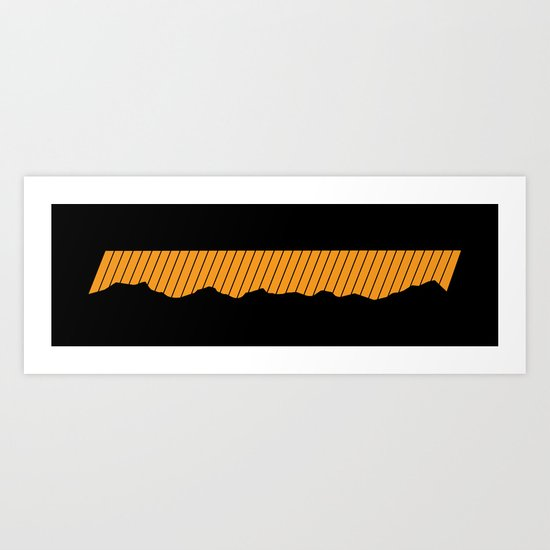 o-range Art Print
