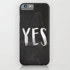 YES Chalkboard Slim Case iPhone 6s