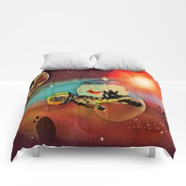 SPACE TURTLE VII - 202 Comforters
