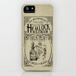 Dr. Schwindler's Original Hemlock Elixir iPhone Case