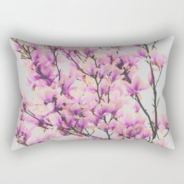 Magnolia in a vintage look Rectangular Pillow
