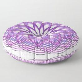 Purple Lotus Flower Floor Pillow