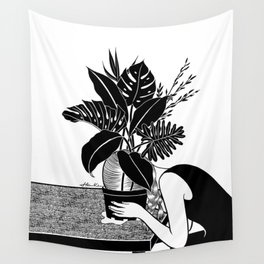 Tragedy makes you grow up Wall Tapestry