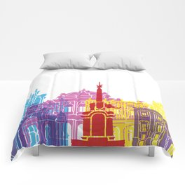 Catania skyline pop Comforters