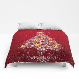 Christmas tree Comforters