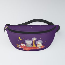 Let's All Go To Mars Fanny Pack
