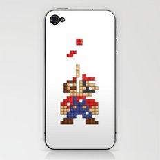 Super Mario Tetris iPhone & iPod Skin