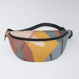 Abstract Art Jungle Fanny Pack