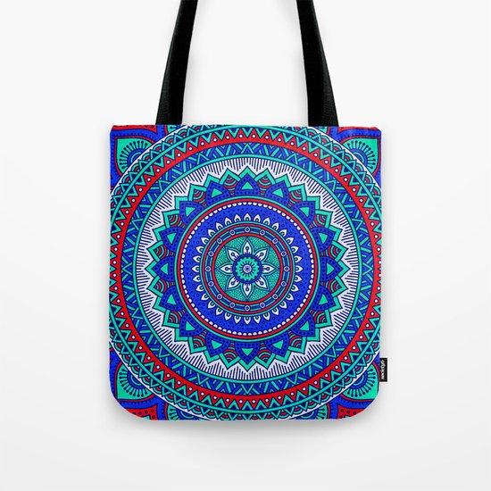 Hippie mandala 28 Tote Bag