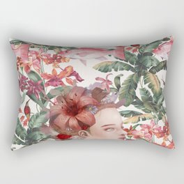 Lost in Blindfulness Rectangular Pillow