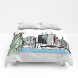 New York. Comforters