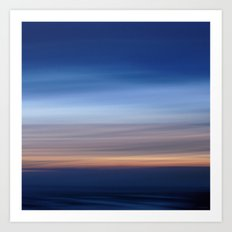 Horizon Lines Art Print