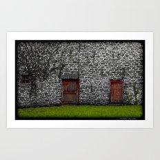 Barn Doors Art Print